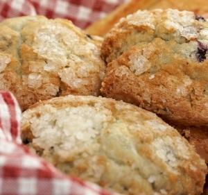 Elderberry-Muffins