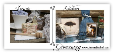 Gideon and Lonnie Giveaway